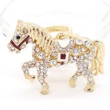 Key chians Purse Bag horse Rhinestone Keyrings Keychain charm Pendant Gift G162