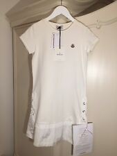 Moncler White Dress For Girl 14 Years Size Will Fit Size XS UK 6 BRAND NEW!