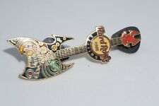 Hard Rock Cafe Pins - Vintage HRC Beijing Rock Guitar Pin, Limited Edition 300