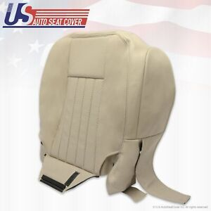 2005 2006 Lincoln Navigator Driver Side Bottom Leather Seat Cover Perforated TAN