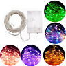 20/30/100 Battery Operated LED String Fairy Lights Xmas Tree Wedding Party Lamp