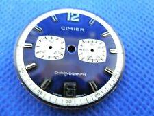 Cadran de montre Zifferblatt Watch Dial CIMIER Chronograph SWISS MADE 31,48 mm