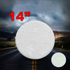 "USA 14"" Pure White Spare Wheel Tyre Cover Fit For All Car Tyre Diameter 60-69cm"