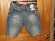 ARIZONA JEAN CO - MEN - SLIM SHORTS - MED VINTAGE - SIZE 28  (GRN-110-10)