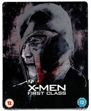 X-MEN FIRST CLASS BLU-RAY STEELBOOK NEU & OVP SEALED SOLD OUT