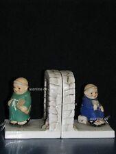 +* Goebel  Archiv Arbeitsmuster Friar Tuck, Kardinal grün/blau, Buchstützen book