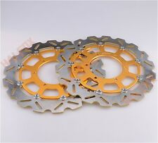Front Brake Disc Rotor For Suzuki GSXR600/750 2008-2017 GSXR1000 2009-2017