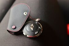 2007-2013 MINI Cooper leather Case in Black with Red line JCW GP SD ONE COOPER S