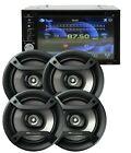 SoundXtreme 2 Din DVD Receiver ST-6527BT + 4x Pioneer TS-F1634R 6.5