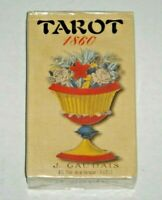 Tarot Gaudais 1860. Rare unusual 78-Card Deck. BRAND NEW & SEALED, w/ Tarot Bag.