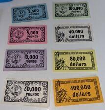 Vintage 1965 Waddingtons Mine A Million Business Game - 100+ Currency Notes cash