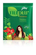 Godrej Nupur 9 Herbs Henna Mehendi Powder - 120 gm free shipping (pack of 3)