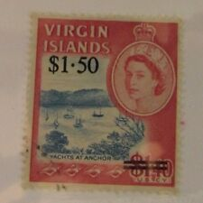 Virgin Islands SC #174 ANCHORED YACHTS used stamp