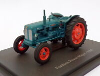 Hachette 1/43 Scale Model Tractor HT073 - 1958 Fordson Power Major - Blue