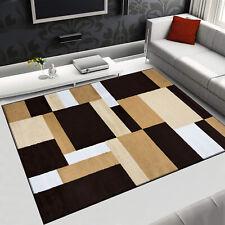 Lavable alfombra monocromática Modern barroco patrón antideslizante Soft blando en gris