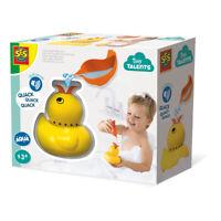SES CREATIVE Children's Tiny Talents Quack Quack Duck Bath Toy with Sounds