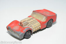 LESNEY MATCHBOX SUPERFAST 10 ROAD DRAGSTER RED GOOD CONDITION