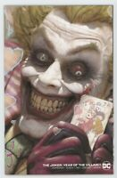 Joker Year Of The Villain 1 DC 2019 NM Ryan Brown Minimal Variant Batman