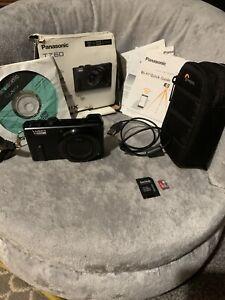 Panasonic LUMIX DMC-TZ60 18.1MP Digital Camera - Black 16gb Memory Card Inc