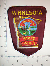 MN Minnesota State Highway Patrol Trooper Police REFLECTIVE patch