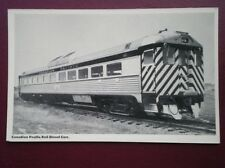 POSTCARD CANADIAN PACIFIC RAIL DIESEL CARS