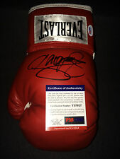 Manny Pacquiao Signed/Auto Everlast Boxing Glove Megafight May 2 PSA/DNA