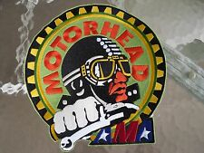 AMA MOTORCYCLE MOTORHEAD CAFE RACER PATCH LARGE NOS EMBROIDERED NEW