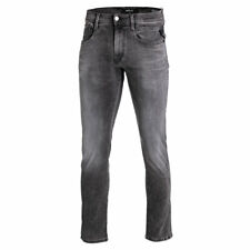 Replay Jeans Anbass Hyperflex Slim-Fit Herren Herrenjeans Denim Grey Grau Denim