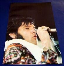 """1977 VINTAGE ELVIS PRESLEY POSTER * """"Sideburn Elvis Sings* NICE COND!! 11X17"""""""