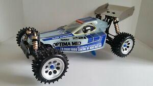 Vintage Kyosho Turbo Optima Mid
