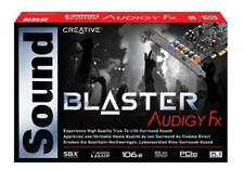Creative Sound Blaster Audigy PCIe FX 5.1 Audio Sound Card with Headphone Amp