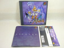 PS1 ALUNDRA with SPINE CARD * Playstation PS Sony Japan Game p1
