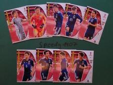 Panini RUSSIA 2018 Fifa World Cup all 9 Team Mates Japan Nagatomo Adrenalyn 18