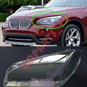 1PCS For BMW X1 E84 2010-2015 Left Side Headlight Cover Replacement+ With Glue