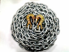 "(1) NEW 5/16"" x 16' Grade 43 High Test Chain - Made in USA - w / G43 Grab hooks"