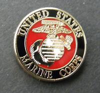 MARINES Small Lapel Pin Badge 13/16 inch Marine USMC US