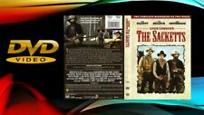 The Sacketts (DVD, 1979) Rare, Tested, Like New!! 2 Disc Set...Fast Shipping!!!