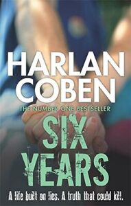 Six Years by Harlan Coben Book The Cheap Fast Free Post