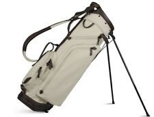 SUN MOUNTAIN CANVAS LEATHER STAND GOLF BAG - BROWN/CANVAS NEW 2018