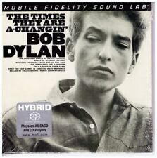 Bob Dylan , The Times They Are A-Changin' - Ultradisc UHR™ Gain 2 - SACD Stereo