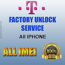 T-mobile USA  Unlock Service IPhone 5s SE 6 6+ 6s 6s+ 7 7+ Blacklist/Blocked