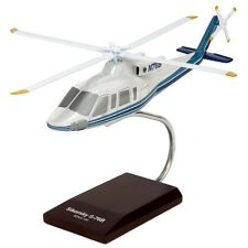 Sikorsky S-76B Helicopter Demonstrator Copter Huey 1/40 Desk Display MC Model
