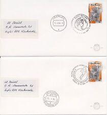 Nrs. 1306 op 2 brieven naar Kerkrade (19 en 26-05-1984)