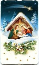 Santos brillo weihnachtsstern hl. familia jesús 10,4 x 6 cm HBG 5055