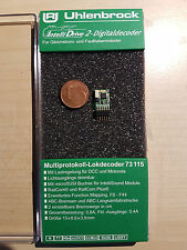 Uhlenbrock 73115 Mini Lokdecoder mot DCC 6-pol. Connecteur + kl. La belle prise (73110)