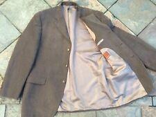 """M&S Collezione 44-46"""" Brown Needlecord Cord Blazer Jacket"""