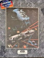 Star Wars Return Jedi Falcon Chromart Poster Zanart Print COA Vintage LE