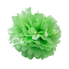 "Paper Tissue Pom Poms 8"" 10"" 12"" 14"" 16"" Flower Wedding Festival Party Pompom"