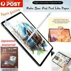Paper Like Screen Protector Film Draw Sketch For iPad Pro 12.9 Air 7 8 Mini