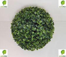 Sfera palla di BOSSO sintetica finta in plastica per interni o giardino CM 28